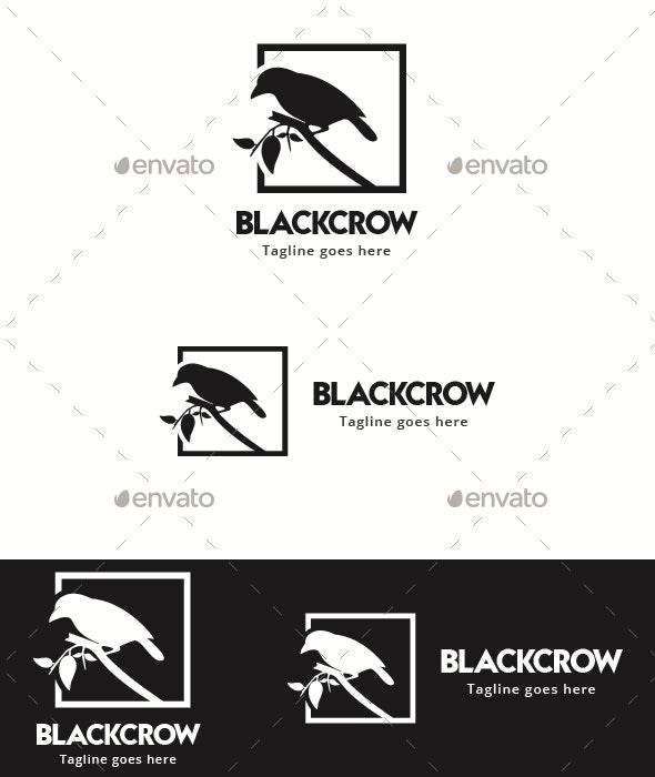Black Crown - Animals Logo Templates