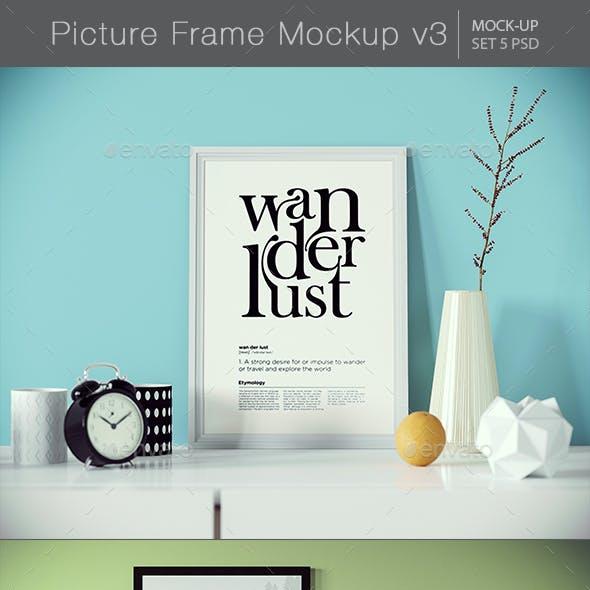 Picture Frame Mockup v3