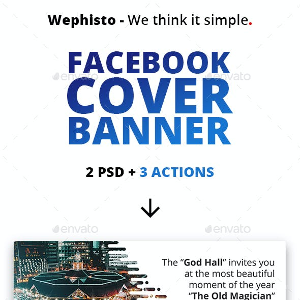 Facebook Multipurpose Cover Banner For Page Business And Creative