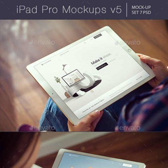 Pad Pro Mockups v5
