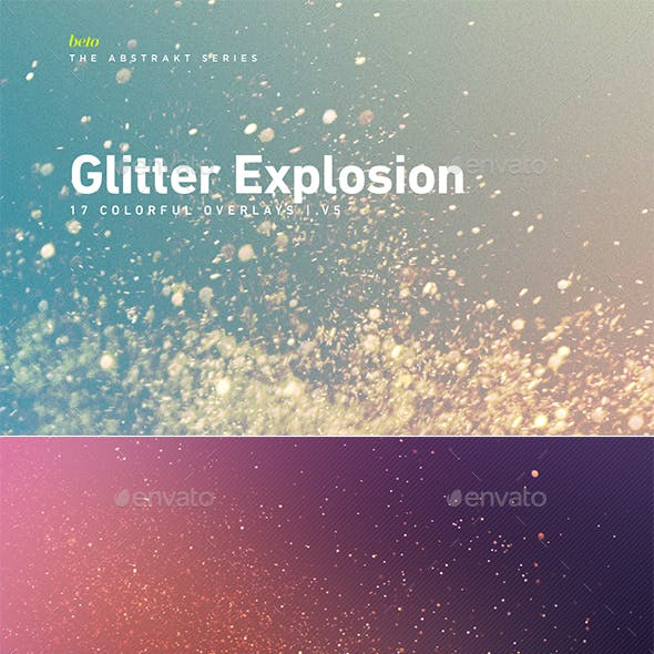 Colorful Glitter Explosion V5