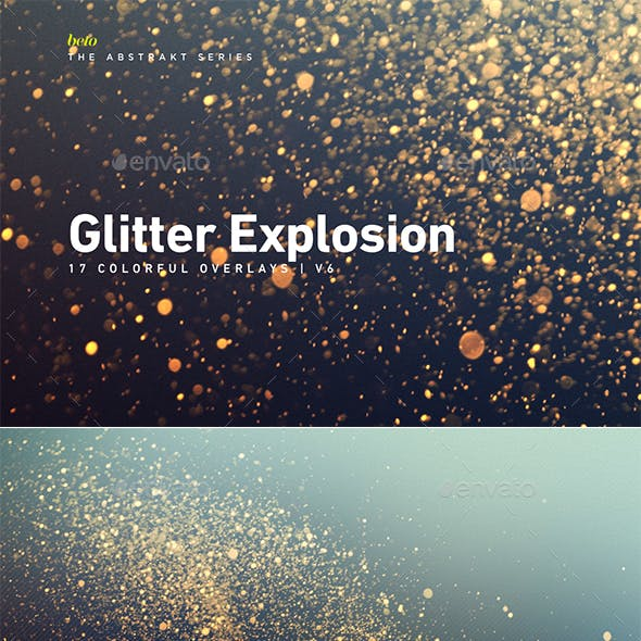 Colorful Glitter Explosion V6