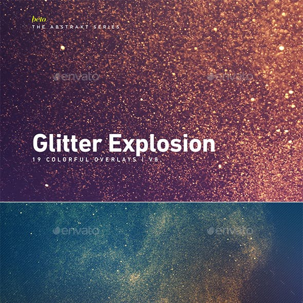 Colorful Glitter Explosion V8