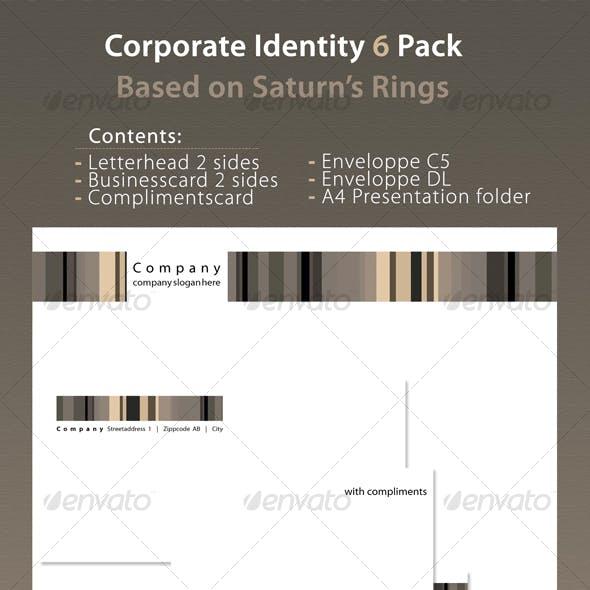 Corporate Identity 6 Pack Saturn