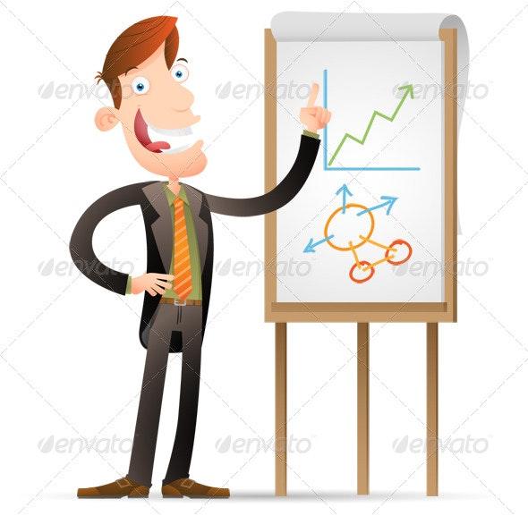 Explaining - Business Illustrations