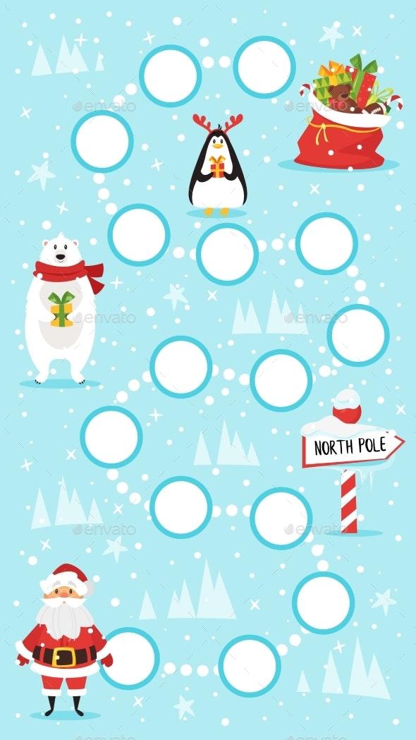 Christmas Board Game - Christmas Seasons/Holidays