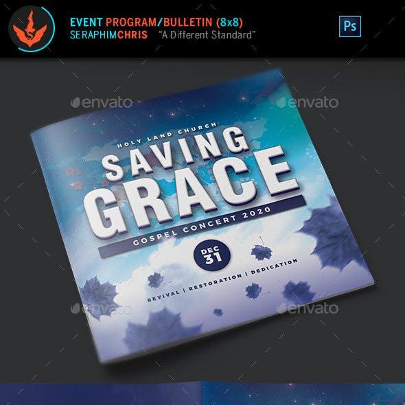 Gospel Concert Program Template