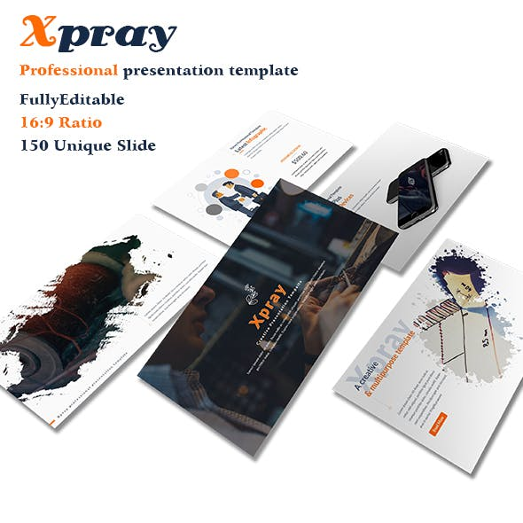 Xpray Professional Google Slide Template