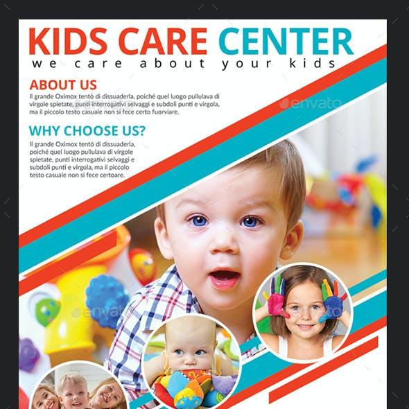 Kids Care Center Flyer