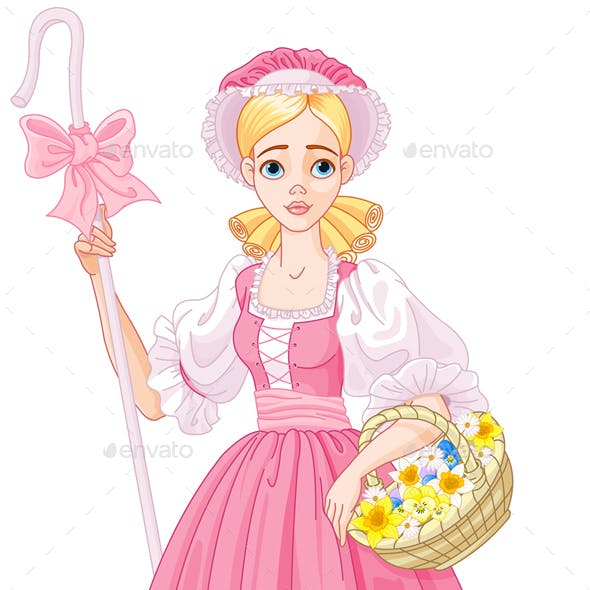 Charming Shepherdess