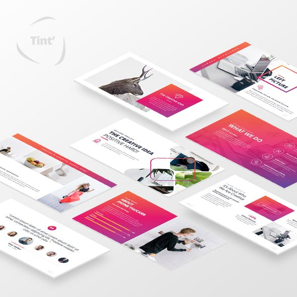 Teorint Powerpoint Template