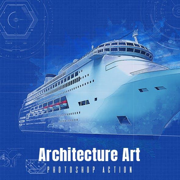 Architecture Art Sketch Action