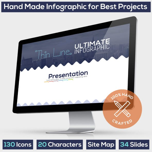 Ultimate Thin Line. Powerpoint Presentation