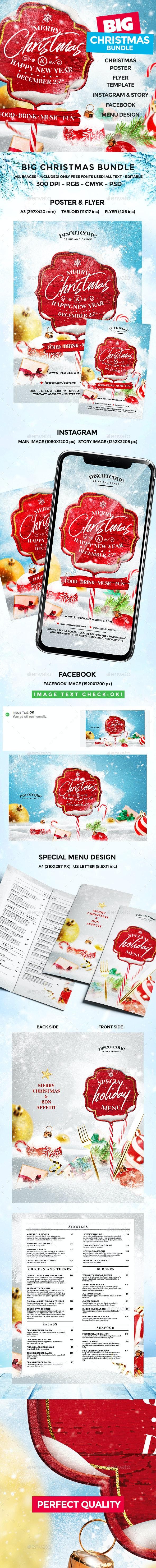 Christmas - Flyers Print Templates