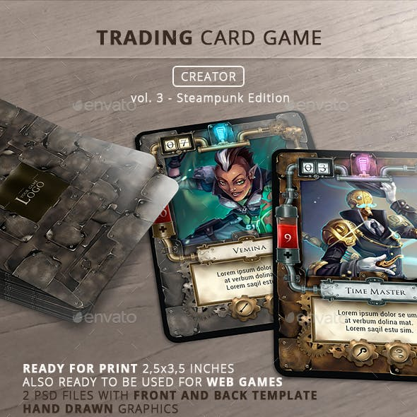 Trading Card Game - Creator - vol.3
