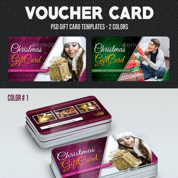 Christmas Voucher Card