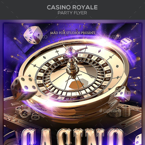 Casino Royale Party Flyer