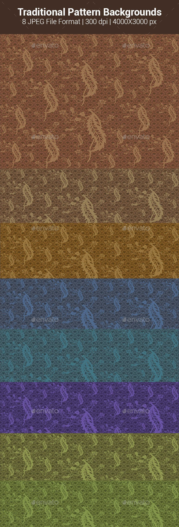 Traditional Pattern Backgrounds - Patterns Backgrounds