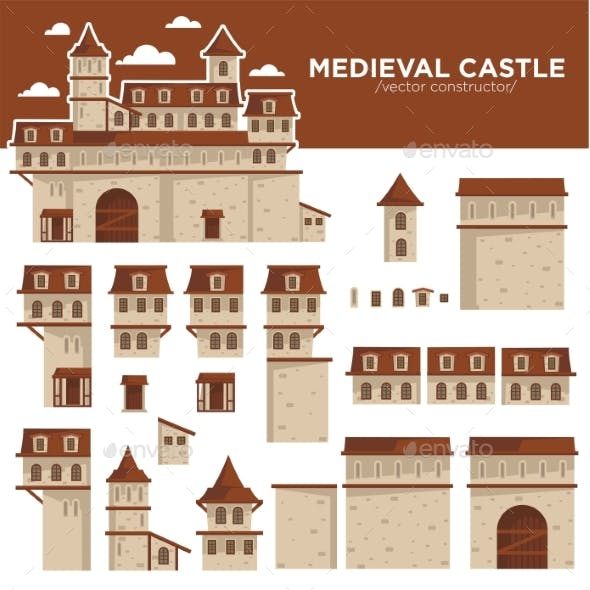 Medieval Castle or Royal Fortress Constructor