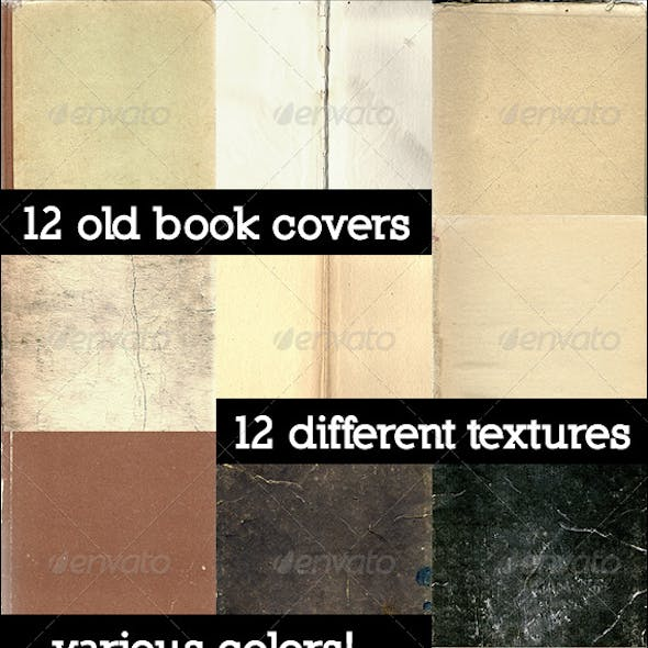 12 Old Book Covers