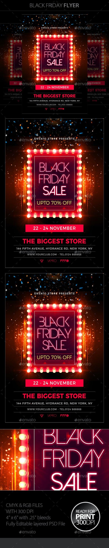 Black Friday Flyer - Holidays Events
