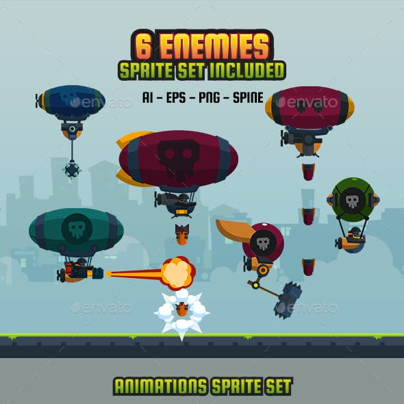 6 Enemy Flat V2