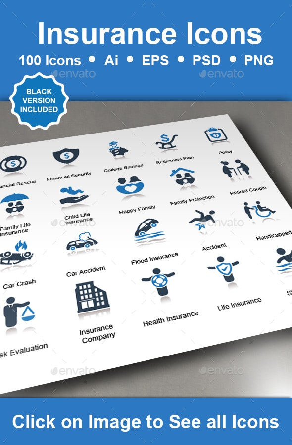 Insurance Icons - Business Icons