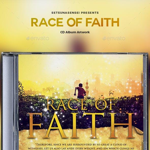 Race of Faith CD Album Artwork