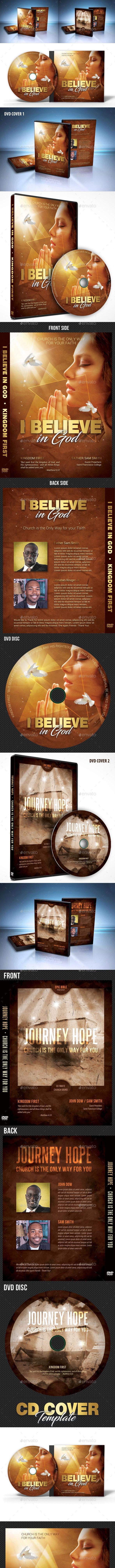 Church CD DVD Covers Bundle