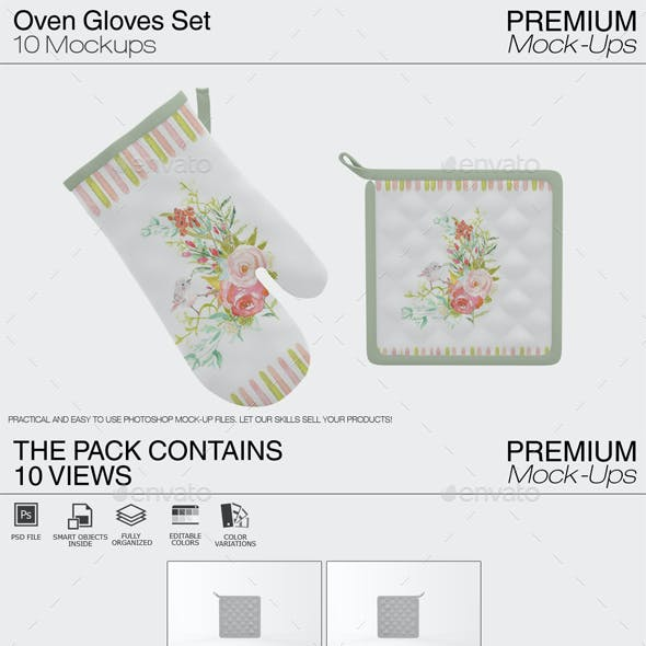 Oven Gloves and Pads