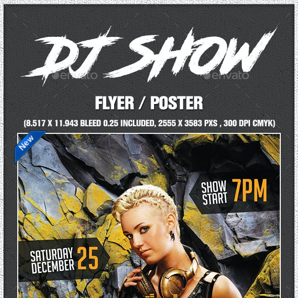 Dj Show Poster