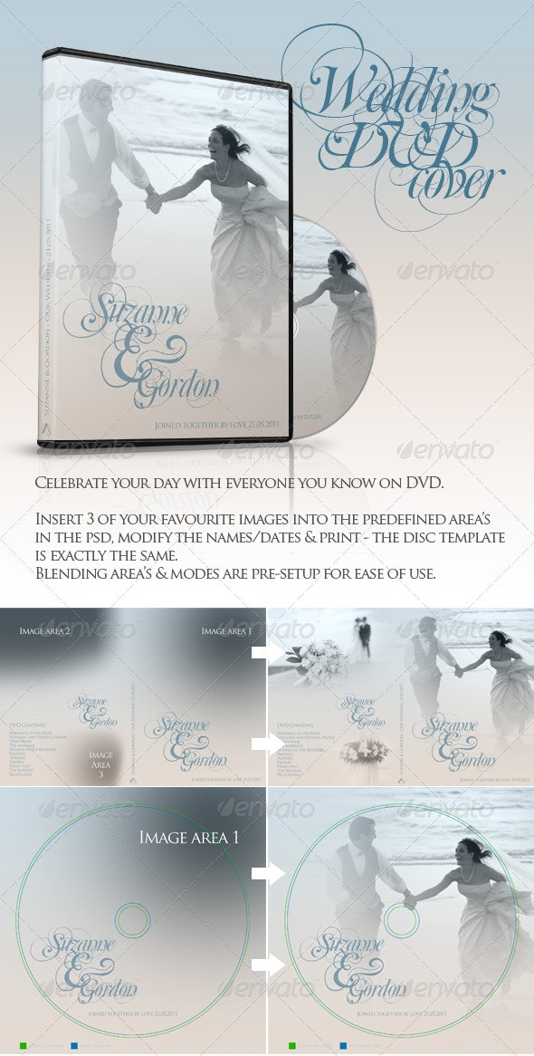 Wedding DVD & CD Covers