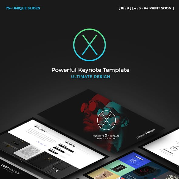X Business Keynote Presentation Template