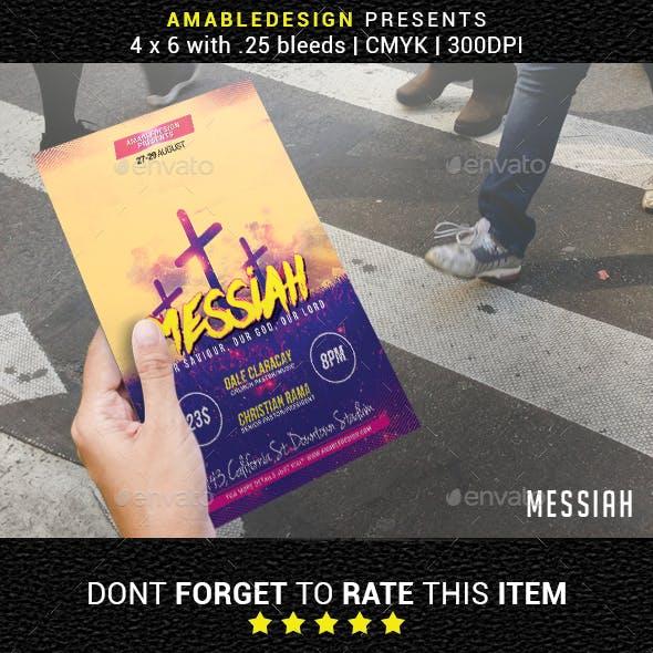 Messiah Church Flyer
