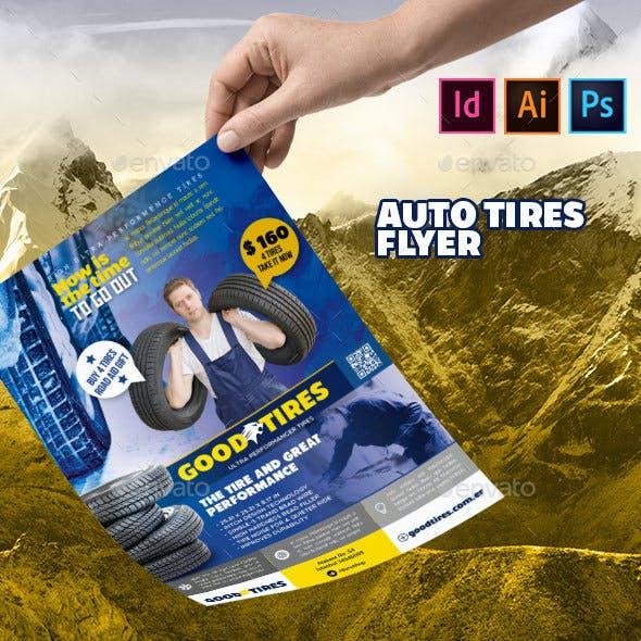 Car Tires Flyer