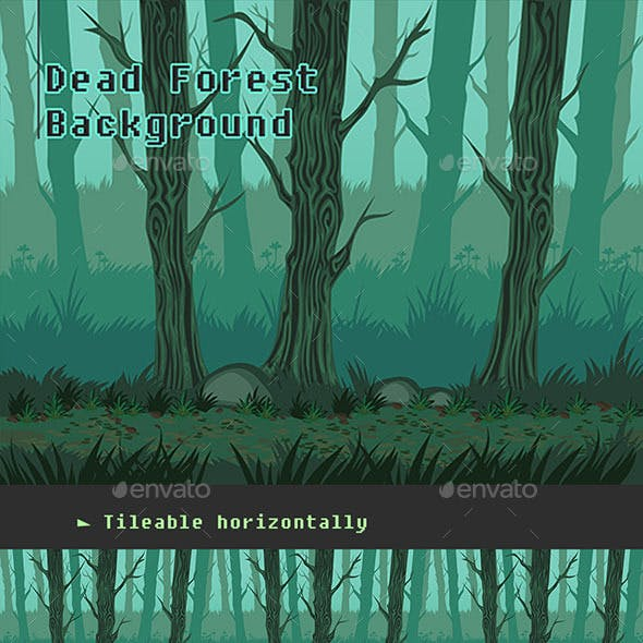 Dead Forest Background