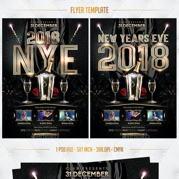 2018 Flyer Template