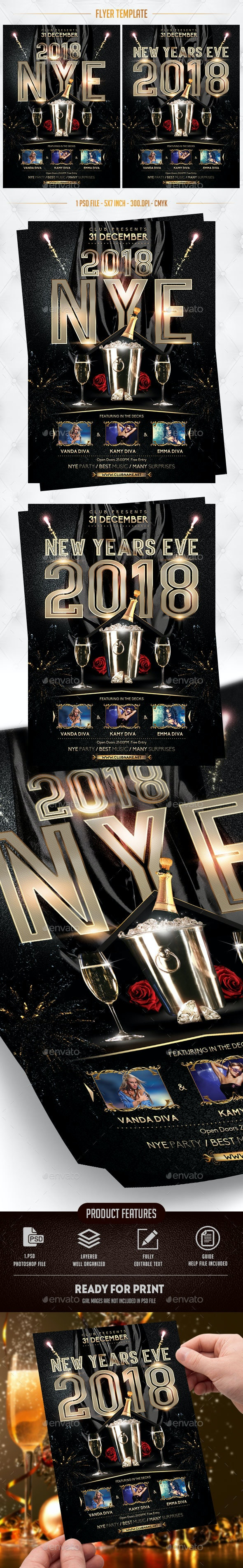 2018 Flyer Template - Events Flyers