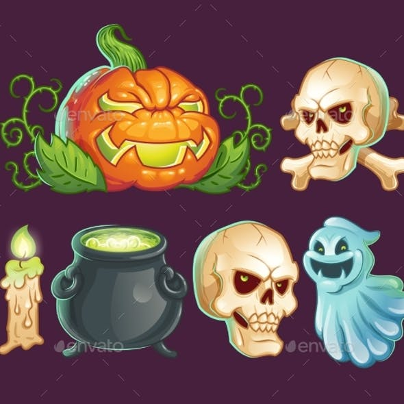 Stickers for Halloween
