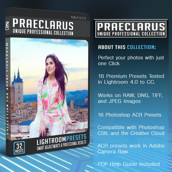 Praeclarus - Lightroom and Photoshop Presets