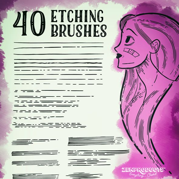 Sketch Illustrator Brushes from GraphicRiver