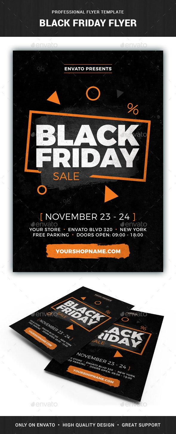 Black Friday Flyer Template - Commerce Flyers