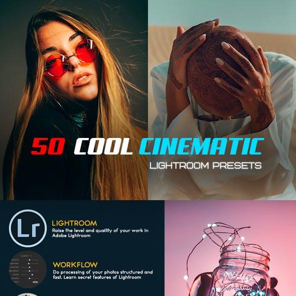 Cool Cinematic Lightroom Presets