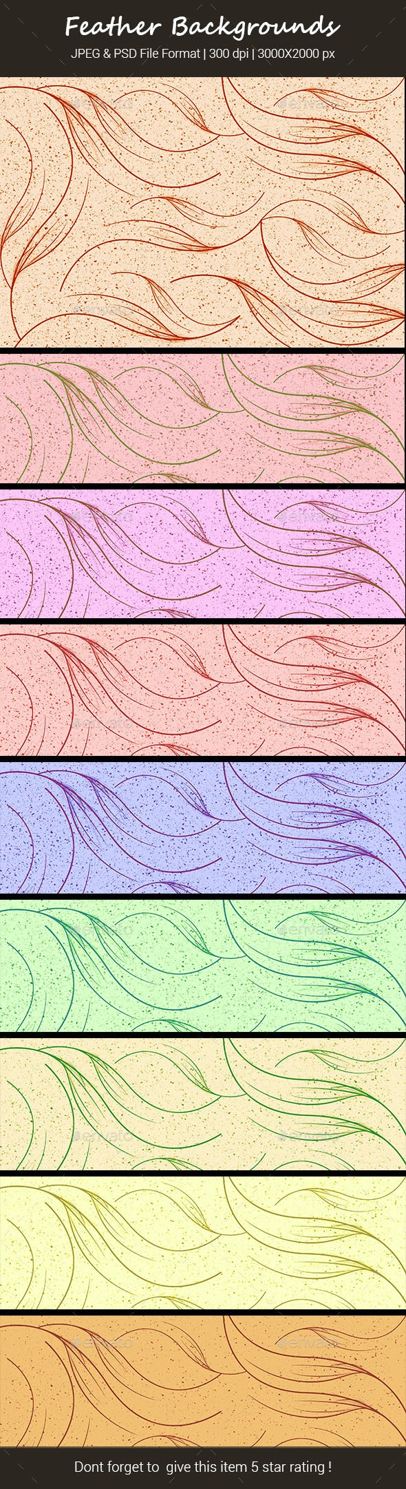 Feather Backgrounds - Backgrounds Graphics