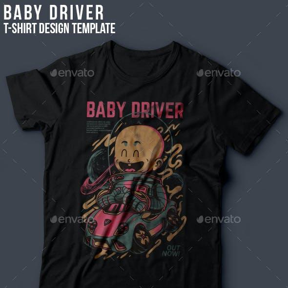 Baby Driver T-Shirt Design
