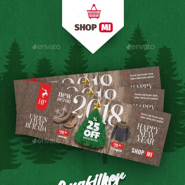 Christmas Sale Cover Templates