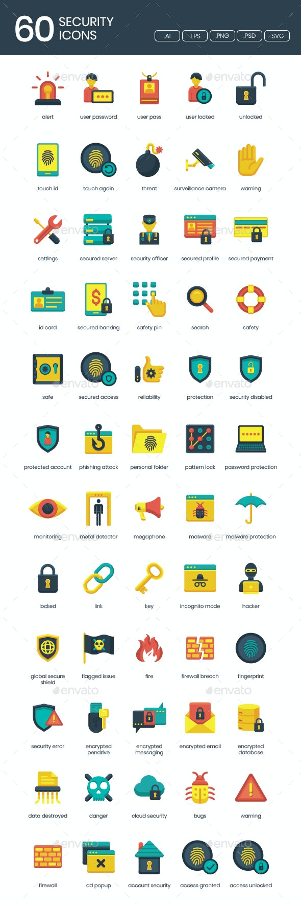 IT Security Icons - Icons