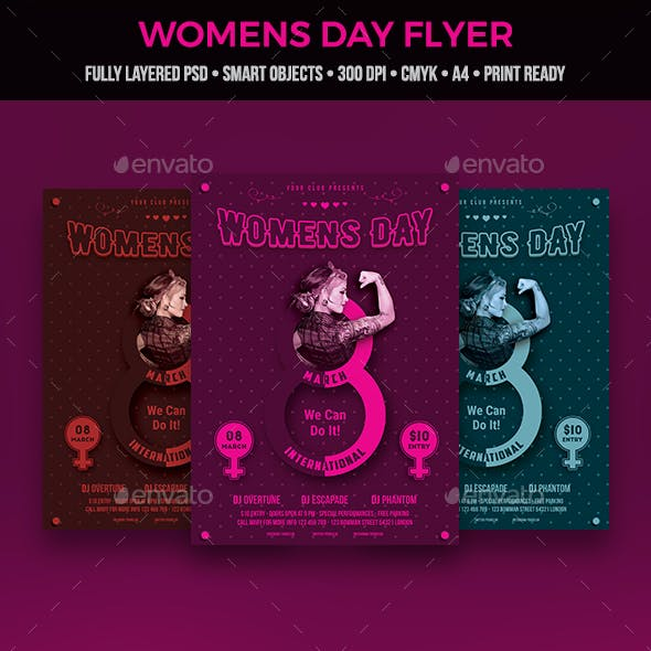 Womens Day Flyer
