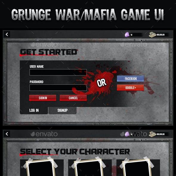 Grunge UI Kit for Games