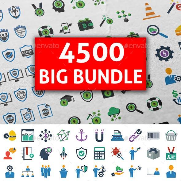4500 Big Bundle Icons